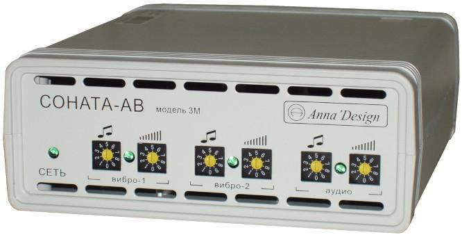 """Модель  """"Соната-АВ """" состоит из двух независимых генераторов шума, каждый из которых может..."""